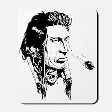 Native American Warrior Mousepad