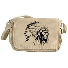 Native American Chieftain Messenger Bag