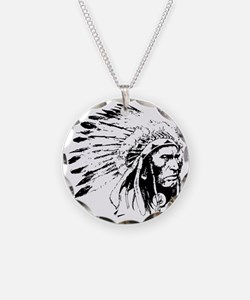 Native American Chieftain Necklace