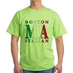 Boston Italian Green T-Shirt