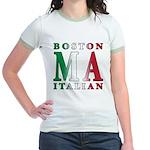 Boston Italian Jr. Ringer T-Shirt