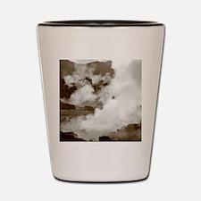 Furnas volcano Shot Glass