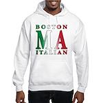 Boston Italian Hooded Sweatshirt