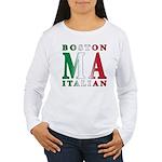 Boston Italian Women's Long Sleeve T-Shirt