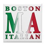 Boston Italian Tile Coaster