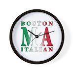Boston Italian Wall Clock
