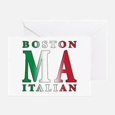Boston Italian Greeting Cards (Pk of 10)