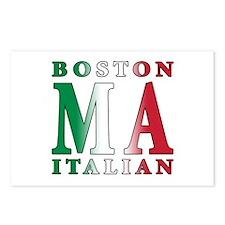 Boston Italian Postcards (Package of 8)