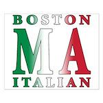 Boston Italian Small Poster