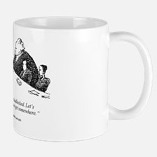 Elephant in the Room at Mediation Mug
