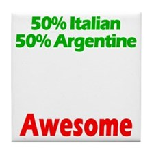 Italian - Argentine Tile Coaster