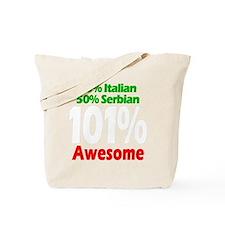 Italian - Serbian Tote Bag