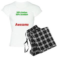 Italian - Scottish Pajamas