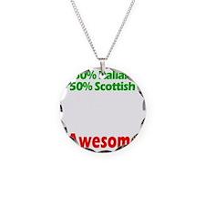 Italian - Scottish Necklace