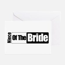 Niece of the Bride Greeting Cards (Pk of 10)
