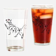 New Shotokan Tiger MSK Drinking Glass