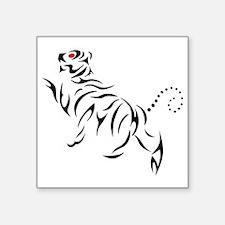 """New Shotokan Tiger MSK Square Sticker 3"""" x 3"""""""