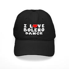 I Love Bolero Dance Baseball Hat
