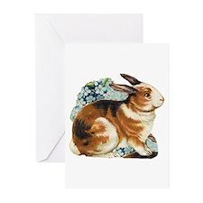 Vintage Bunny Rabbit Greeting Cards (Pk of 10)