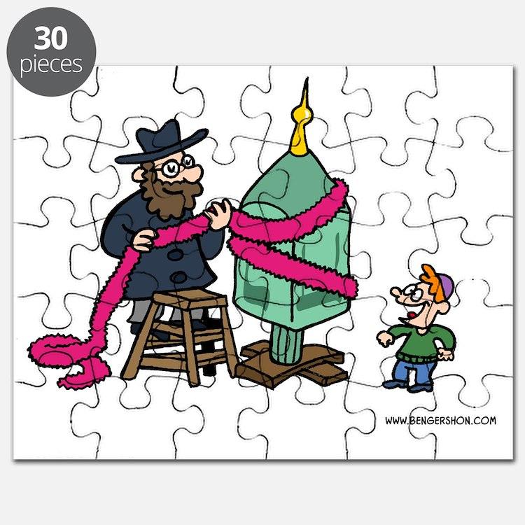 Dreidel Christmas Tree Puzzle