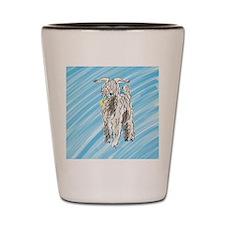 goat big Shot Glass