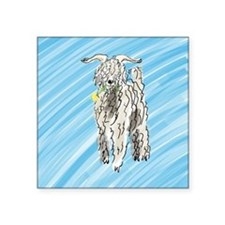 "goat big Square Sticker 3"" x 3"""