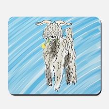goat big Mousepad