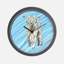 goat big Wall Clock