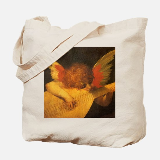 Musician Angel by Fiorentino Tote Bag