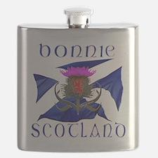 Bonnie Scotland flag design Flask
