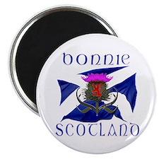 Bonnie Scotland flag design Magnet