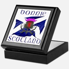 Bonnie Scotland flag design Keepsake Box