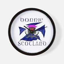 Scottish Flag Clocks Scottish Flag Wall Clocks Large