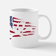 SKULLCAKE AMERICAN FLAG LOGO Mug