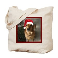 goldenxmasshower Tote Bag