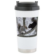 Black Squirrel Travel Mug