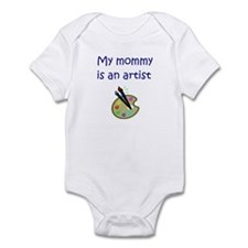 My Mommy Is An Artist Infant Bodysuit