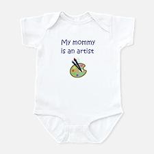 My Mommy Is An Artist Infant Bodysuit