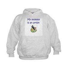 My Mommy Is An Artist Hoodie