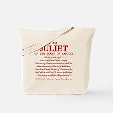 Juliet (red) Tote Bag