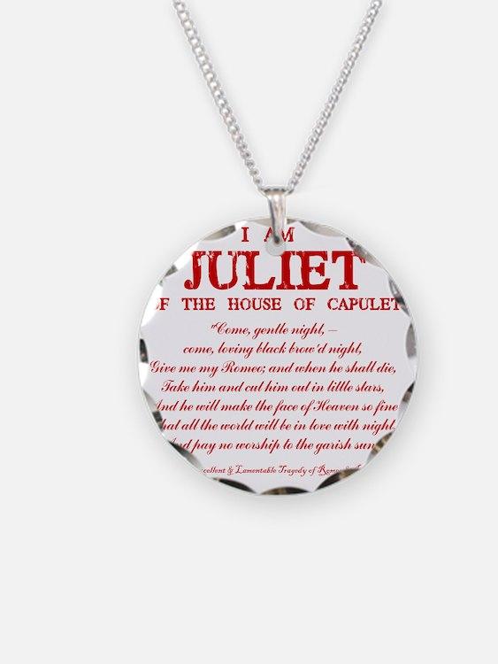Juliet (red) Necklace