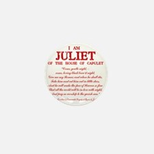 Juliet (red) Mini Button