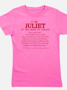 Juliet (red) Girl's Tee