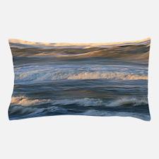Surf Wave Motion Pillow Case