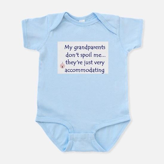 GRANDPARENTS SPOIL Infant Bodysuit