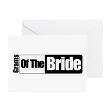 Grams of the Bride Greeting Cards (Pk of 10)
