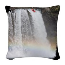 January Woven Throw Pillow