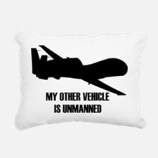 my other vehicle is unma Rectangular Canvas Pillow