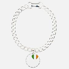 i love boston(blk)a Bracelet