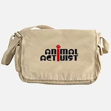 Animal Activist Messenger Bag